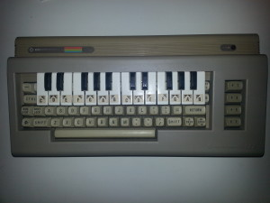 Commodore music maker keyboard