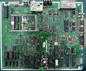 Mainboard C128DCR board 250477