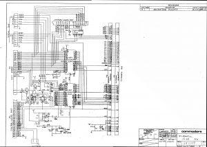 Commodore SX 64 I/O Board Schematics 251107